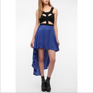 Urban Outfitters Cut Out High Low Dress